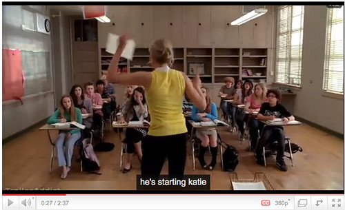 Bad Teacher - what Youtube captions