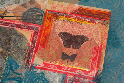 collage paper butterflies-5