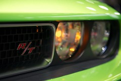 R/T Badge (Joshishi) Tags: auto show chicago green cars illinois dodge rt challenger 2011 105mmf28dmicro