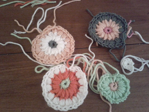 the start of some granny squares