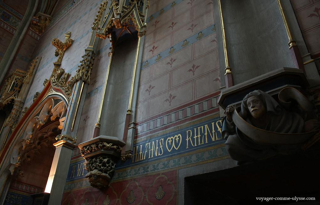 Décoration de la chapelle