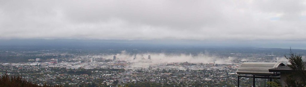 Christchurch minutes after the quake