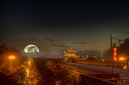 Full Moon Over Xi'an by Dave Morrow's Custom Creations, on Flickr