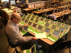 26 xo laptops is a lot to keep track of. Where's my secretary? #olpc