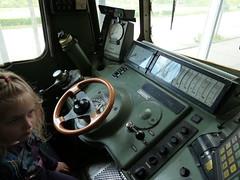 Fhrerstand der Kantonslokomotive SBB Ae 6/6 Schaffhausen (Cary Greisch) Tags: geotagged switzerland luzern che lucerne lokomotive coralie verkehrshaus carygreisch sbbae66
