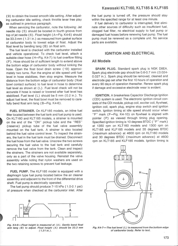Kawasaki Klf185 Wiring Diagram  Onan Parts Diagrams