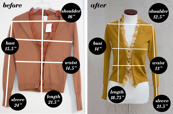 JCrew-Chiffon-Cardigan-Before-After-Measurement