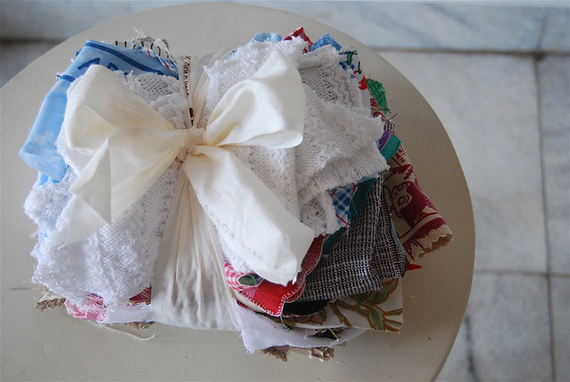 scrap fabric bundle