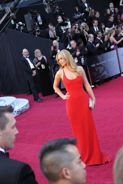 Jennifer Lawrence at the 83rd Academy Awards Red Carpet IMG_1078 by MingleMediaTVNetwork