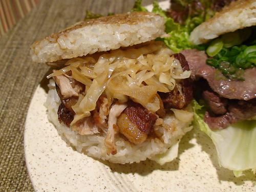 2/27/11 buta kakuni rice burger