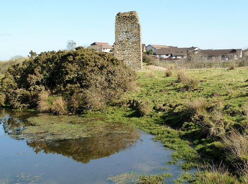 Remains of Corsehill Castle, Stewarton,