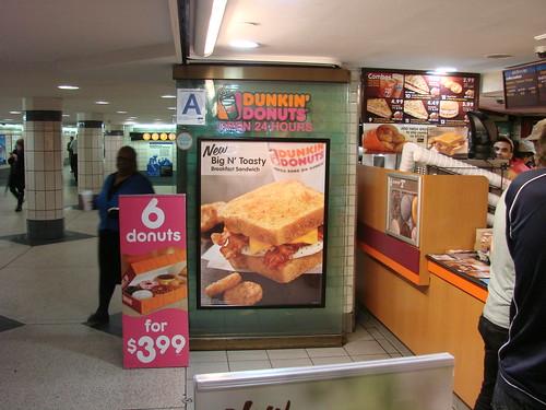 Dunkin Donuts Big 'N' Tasty