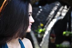 shy!!! (e.nhan) Tags: light portrait art closeup dof bokeh backlighting enhan