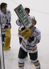 Seniors with the Bonesaw (waitscm) Tags: ny potsdam bonesaw clarksonhockey