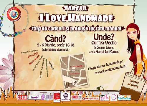 I Love Handmade 5-6 Martie