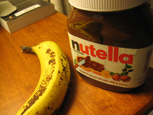 banana nutella