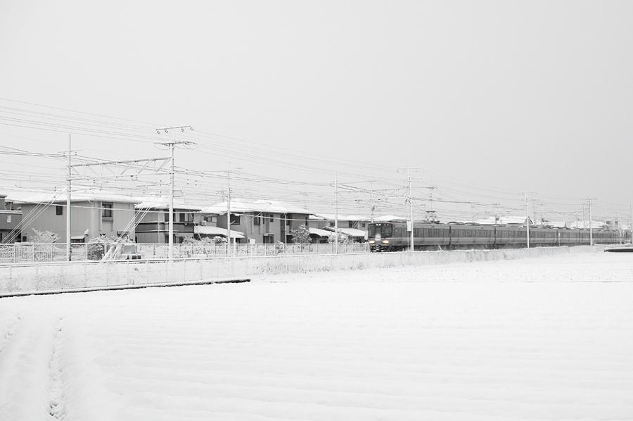 雪景色|滋賀県野洲