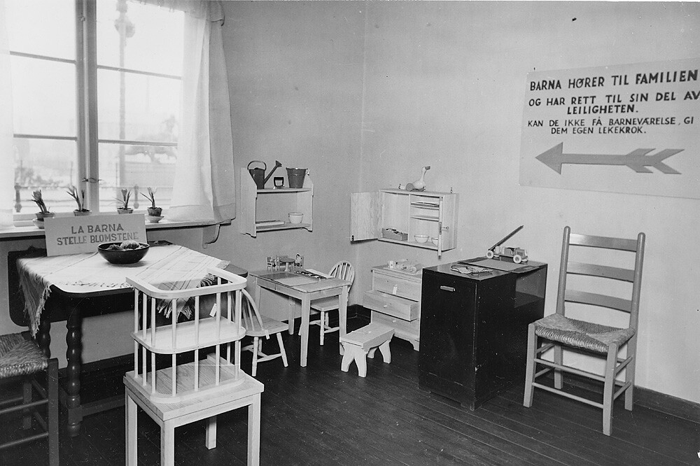 Lekekrok, Østkantutstillingen 1931