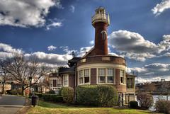 Turtle Rock Lighthouse, Philadelphia, Pennsylvania (Andrew Aliferis) Tags: philadelphia andy exterior pennsylvania andrew hdr aga hdri schuylkillriver photomatix aliferis sedgeleyclub