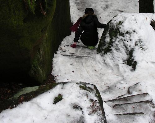 Maloskalsko – zimní toulání po ledu a skalách