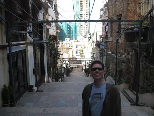 James on Escaliers St Nicolas