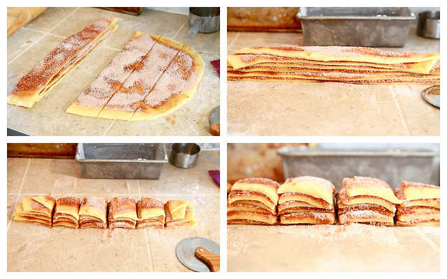 Cinnamon Bread Collage