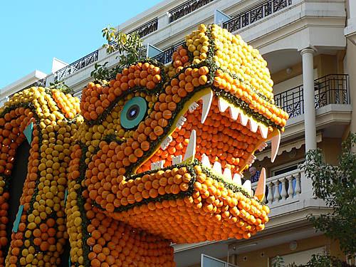têtes en oranges