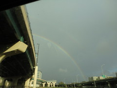 double rainbow: the only good thing about orlando