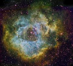 Rosette nebula (Mickut) Tags: ngc2237 ngc2244 rosettenebula starlightxpress ngc2238 ngc2239 Astrometrydotnet:status=solved Astrometrydotnet:version=14400 sxvrh18 Astrometrydotnet:id=alpha20110344098677