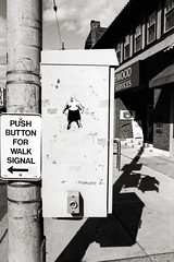 Instructions to the People #37 (michaelgoodin) Tags: bw film 35mm march nikon squirrel pittsburgh pennsylvania hill instructions rodinal 6000 1100 n90s 4x6 2011 arista premium100
