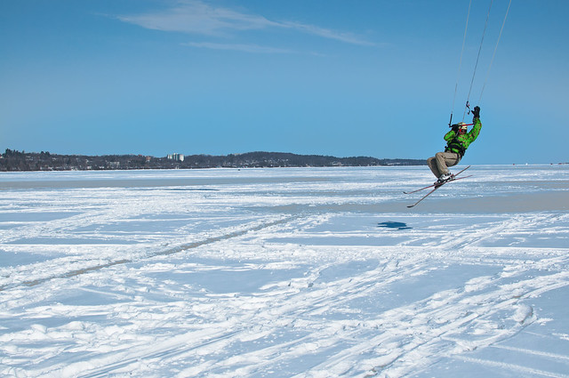 the waning days of kite skiing 2