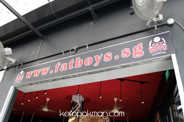 Fat Boys - The Burger Bar