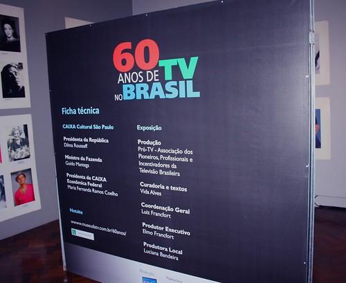 60 anos de TV no Brasil