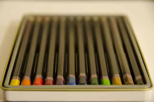 Colour My Pencil Crayons