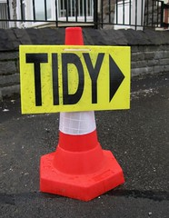 A Tidy Cone (Watt_Dabney) Tags: stella wales march jones funny cone humour ruth tidy llanbradach 2011 pontyberry