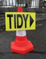 A Tidy Cone (Watt_Dabney) Tags: stella wales march jones funny cone humour ruth tidy llanbradach 2011 pontyberry