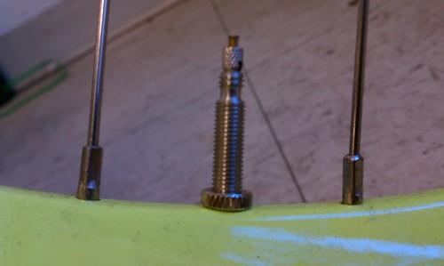 Presta valve on a Public D8 at Flying Pigeon LA