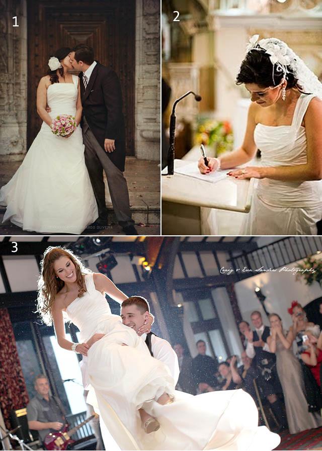 um vestido 3 noivas