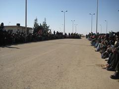 Waiting for onward transport (Stabilisation Unit images) Tags: unitedkingdom libya stabilisation