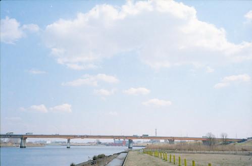 荒川(北区側)