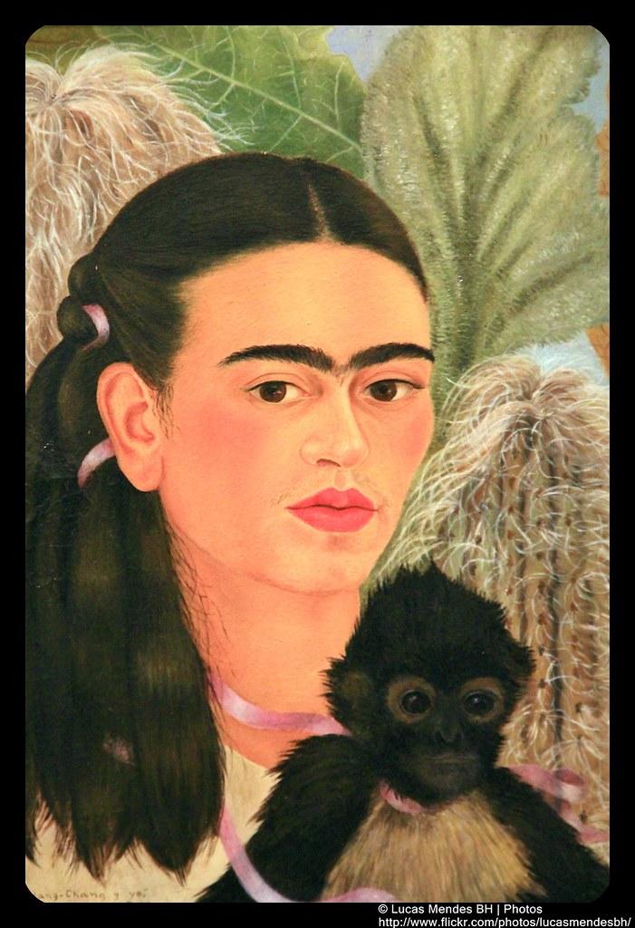 Moma -16 Frida Kahlo - Fulang-Chang and I 1937