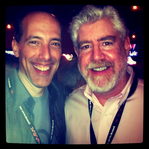 Steve Garfield Meets Bob Garfield at #sxsw