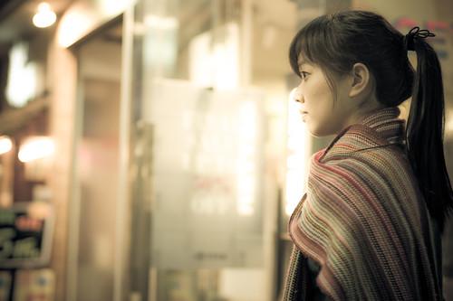 [フリー画像] 人物, 女性, アジア女性, 横顔, 201103160900