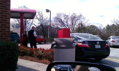 Chick-Fil-A long line procedure