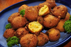 Mmm... hush puppies