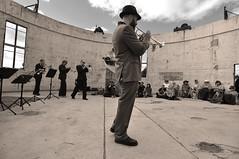 Brass'ere at Mount Stromlo - part 2 (screenstreet) Tags: jazz mountstromlo outdoorconcerts brassere thebrassknucklebrassband