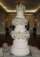 "Winter wedding cake • <a style=""font-size:0.8em;"" href=""http://www.flickr.com/photos/60584691@N02/5525359518/"" target=""_blank"">View on Flickr</a>"