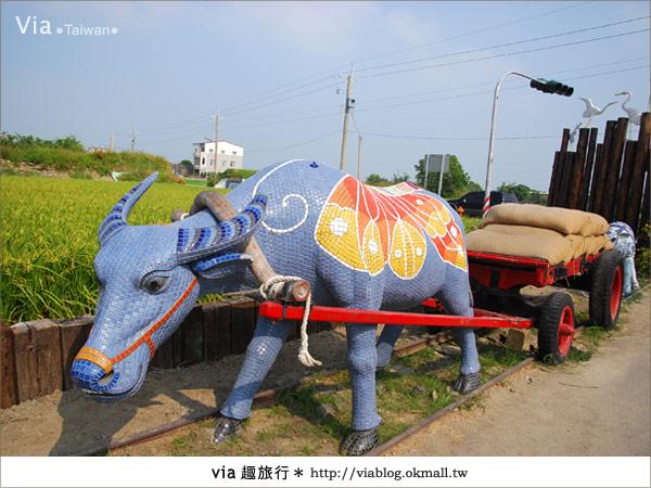【嘉義景點】新港板頭村交趾剪粘藝術村~到處都是有趣的拍照景點!