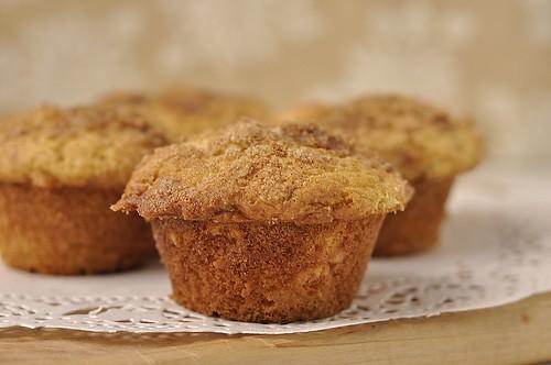 Cinnamon Ripple Muffins