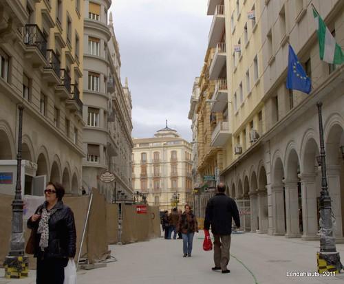 Obras Calle Ángel Ganivet